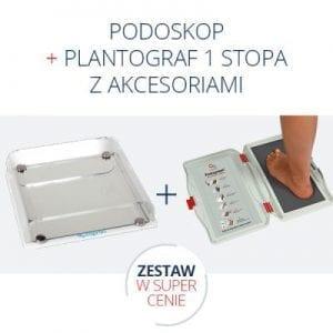 podoskop Capron + plantograf