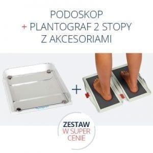 podoskop + plantograf
