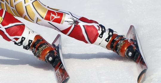 Wady stóp a jazda na nartach